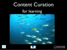 A review of curation tools for educators. Great set of resources for teachers interested in organizing information for students or colleagues.