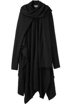 Yohji Yamamoto   Sleeved Mantle   La Garçonne