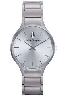 Hush Puppies Signature Women's Automatic Watch with Silver Dial Analogue Display and Silver Stainless Steel Bracelet HP.5009L.1522: Amazon.c...