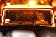 She's in charge! After dinner they were seen walking back to Khloe's car, where she was later seen sitting in the driver's seat on the trip back home