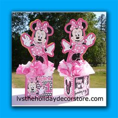 DIY & Supply Kit Small Personalized Minnie by LVSpartydecorations, $18.00