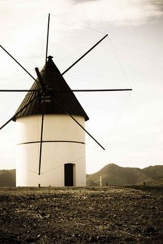Cabo de Gata                                                                                                                                                                                 More Andalucia Spain, Spain Holidays, Archaeological Site, Le Moulin, Spain Travel, Malaga, Best Hotels, Trip Planning, Lighthouse