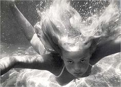I love how hair looks underwater. Like a mermaid.