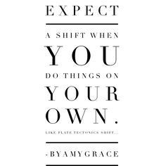 Shift. byAmyGrace
