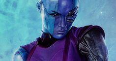 Nebula  fue interpretada en Guardians of the Galaxy  (2014) por  Karen Gillian , quien regresará pa...