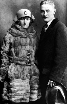 F. Scott Fitzgerald and Zelda Fitzgerald - 1919