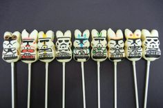 peep trooper pops by sugarswings, via Flickr I NEED TO MAKE THESE!!!!!!