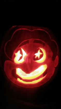 Steven Universe - Pumpkin carving #stevenuniverse