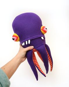 Abbot Pentapod Cotton Monster by cottonmonster on Etsy