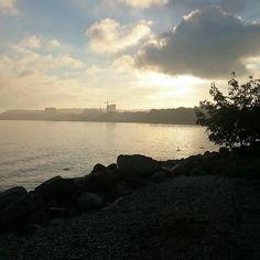 Jokseenkin kaunis aamulenkki. #running #tallinn