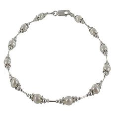 Womens Genuine Fresh Water Cultured Pearls