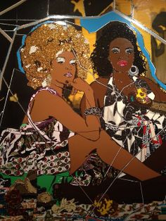 The Museum of Dying Giants: Mickalene Thomas at the Brooklyn Museum of Art African American Artwork, American Artists, Famous Black Artists, Brooklyn Museum Of Art, James Rosenquist, Claes Oldenburg, Jasper Johns, Portraits, Figure Painting