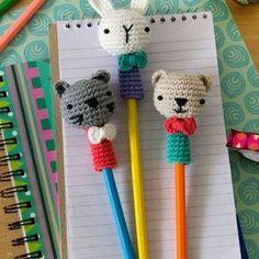 Amigurumi Kalem Süsü Yapılışı 16