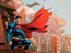 Superman: For Tomorrow by Jim Lee Superman Comic, Jim Lee Superman, Superman Artwork, Superman Family, Superman Man Of Steel, Superman Stuff, Superman Images, Batman Vs, Spiderman
