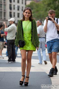 Adorable Mira Duma at Paris Fashion Week Rom10-8