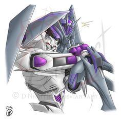 I think that Megatron giving Soundwave a random surprise hug would be hilarious! xD