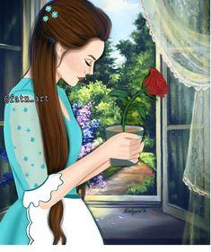 Art Qoutes, Sarra Art, Girly M, Lovely Girl Image, Positive Art, Mother Art, Cute Girl Drawing, Girly Drawings, Cute Girl Wallpaper