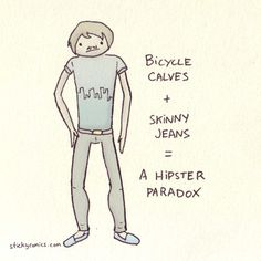 New sticky comic that's sorta about hipsters