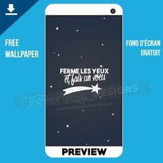 """""""Ferme les yeux et fais un voeu"""" - Free downloadable wallpaper // Fond d'écran gratuit téléchargeable - www.ifwsblog.tk"""