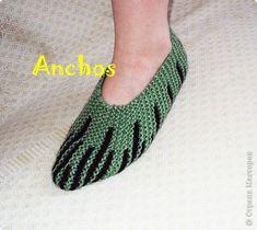 Гардероб Вязание спицами: Теплые следочки Пряжа. Фото 1