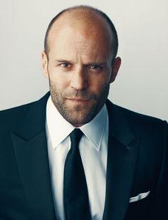 Jason Statham....balding can be sexy.......darn sexy!! :)