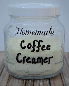 Get rid of all the extra unhealthy additives by making your own yummy Homemade Coffee Creamer