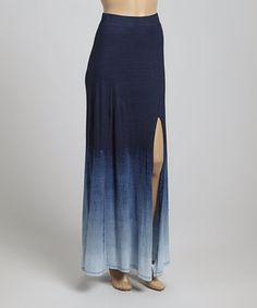 Another great find on #zulily! Blue Ombré Michelle Skirt by LOLLY #zulilyfinds