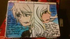 My OCs Setaki and Light Spiritual Half Haika, Laika (Lyrics are not mine, I took them from Ponyphonic and altered them to make them match my characters because I loved the song)
