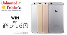 iPhone 6s Contest from Unlimited Cellular!
