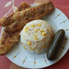Tepsiben sült hekk MiCsillától | MiCsilla receptje - Cookpad receptek Marsala, Mashed Potatoes, Grains, Rice, Ethnic Recipes, Food, Marsala Wine, Meal, Essen