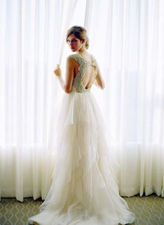 beautiful Hayley Paige wedding dress