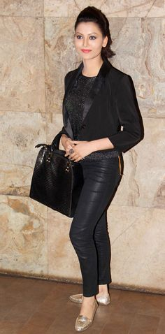 Urvashi Rautela at the screening of Queen. #Style #Bollywood #Fashion #Beauty
