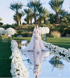 Brides think of finding the most appropriate wedding ceremony, however for this they require the most perfect wedding dress, with the bridesmaid's outfits enhancing the brides dress. These are a variety of tips on wedding dresses. Bridal Tips. Wedding Goals, Wedding Day, Wedding Scene, Church Wedding, Wedding Walkway, Star Wedding, Wedding Photos, 2017 Wedding, Peru Wedding