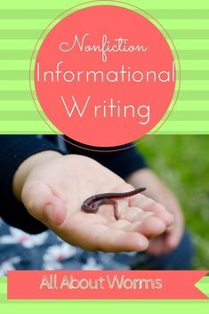 "This ""All About"" book can be used to introduce nonfiction informational writing to emergent writers and/or add science writing to your study of worms. Includes a printable booklet that includes a cover, table of contents, diagram, 4 informational Teaching Kindergarten Writing, Teaching Handwriting, Kindergarten Social Studies, Science Writing, Kindergarten Curriculum, Teaching Social Studies, Kindergarten Centers, Teaching Ideas, First Grade Science"