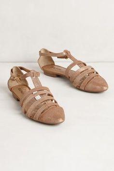 tidepool sandals / anthropologie