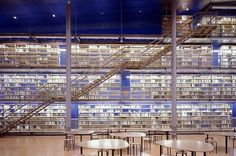 Library at Delft University of Technology — Delft, Netherlands | 49 Breathtaking Libraries From All Over The World