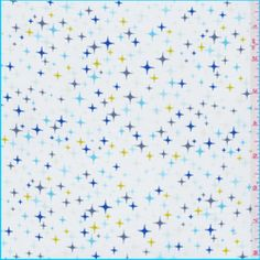 White/Blue Star Shirting - Discount Fabrics $5.25/yard