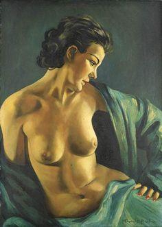 Francis Picabia(1879ー1953)「Femme au chale vert」