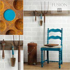 Fusion paint in renfrew blue via My Painted Door (.com)