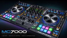 Professional DJ Controller with Dual Audio Interfaces DJ controller with digital mixer Dual USB audio interfaces - connect 2 computers at once Includes Serato DJ Pro, plus 3 Serato Expansion Packs 16 velocit Dj Pro, Dj Download, Digital Dj, Serato Dj, Dj Setup, Gaming Setup, Professional Dj, Dj Gear, Audio
