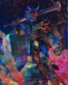 Makai Wolf Knight Giru- The Wicked Bone Knight