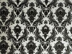 Damsel Removable Wallpaper, Black & White - Contemporary - Wallpaper - Tempaper