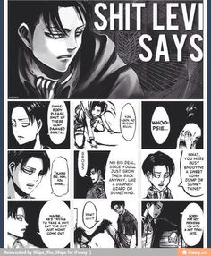 Levi - Attack on Titan / Shingeki no Kyojin Rin Okumura, Attack On Titan Funny, Attack On Titan Anime, Ereri, Levihan, Dreamworks, Cosplay Meme, Levi X Eren, Aot Armin