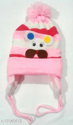 Caps Baby Woolen Multicolor Cap (0-12 Months - Pack of 1) Print and Color May Vary  Baby Woolen Multicolor Cap (0-12 Months - Pack of 1) Print and Color May Vary  Country of Origin: India Sizes Available: Free Size   Catalog Rating: ★4.2 (726)  Catalog Name: Check out this trending catalog CatalogID_2049060 C63-SC1195 Code: 671-11040612-