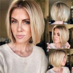 Hair Color And Cut, Haircut And Color, Short Hair Cuts, Short Hair Styles, Blond, Balage Hair, Maskcara Beauty, Undercut Hairstyles, Haircuts