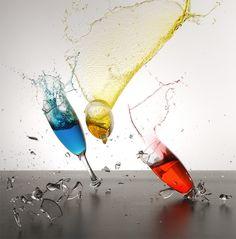 Glass Breaking by Ferrell McCollough, via Behance