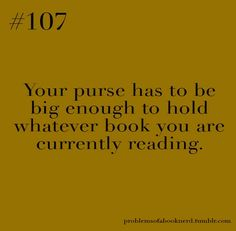 This is a problem for me because I prefer to carry a small purse…