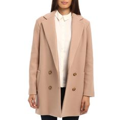 Rank & Style - Theory Café Nest Double-Breasted Coat #rankandstyle