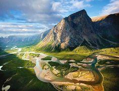 Montes Torngat, Labrador, Canadá. Su nombre significa 'lugar de los espíritus' en inuit