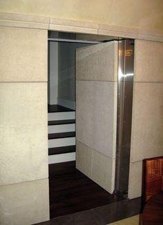 Two Way Door hidden door behind a mirrorgreat way to add some mystery to